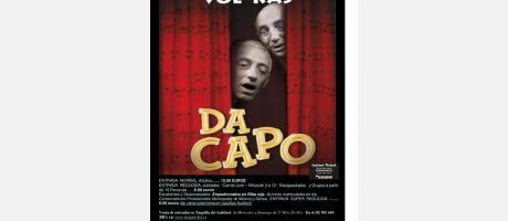 """Cartel """"Da capo"""""""