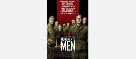 """Cartel """"Monuments men"""""""