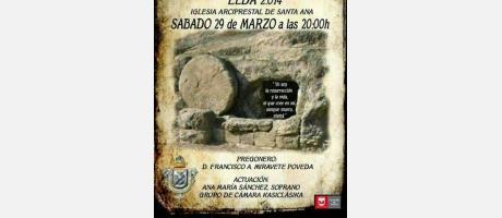 Cartel Pregón Semana Santa