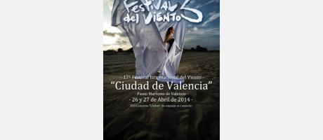 Cartel del festival del viento