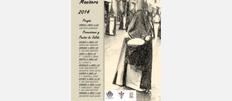 Programa Semana Santa Manisera 2014