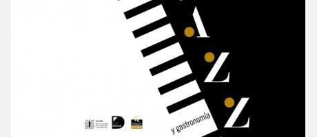 cartel del evento Jazz y Gastronomía en la Terraza del MuVIM