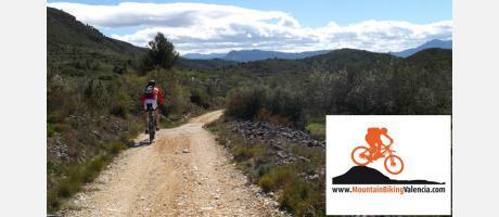 Rutas de BTT en la Vall d'Albaida