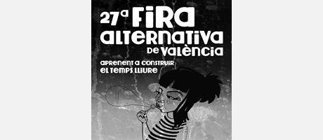 Imagen del cartel de la Feria Alternativa de Valencia