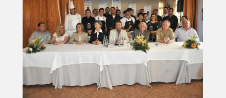 Participantes Concurso Cocina Ñora y Langostino 2013