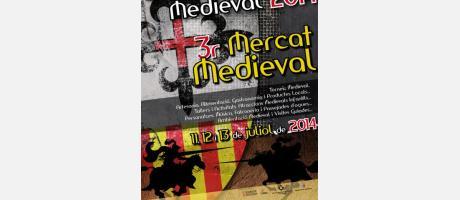 CARTEL SANT MATEU MEDIEVAL 2014