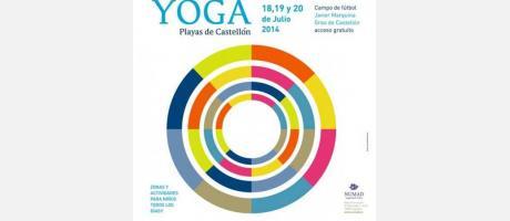 Cartel festival de yoga