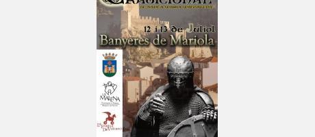 Cartel feria tradicional de Santa María Magdalena Banyeres
