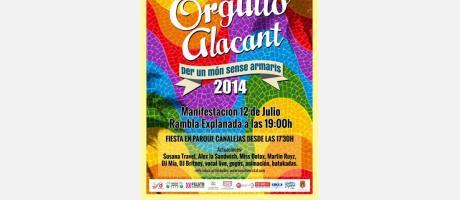 ORGULLO ALACANT 2014