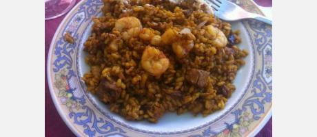 Un plato de arroz del senyoret