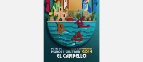 Fiestas de Moros y Cristianos de El Campello en honor a la Virgen de los Desampa