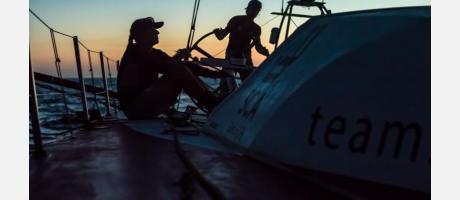En plena regata