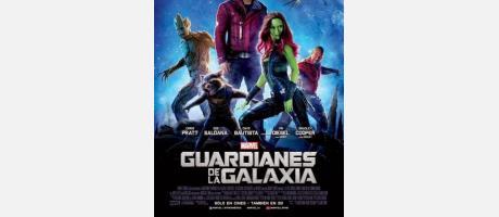 Cartel Los Guardianes de la Galaxia
