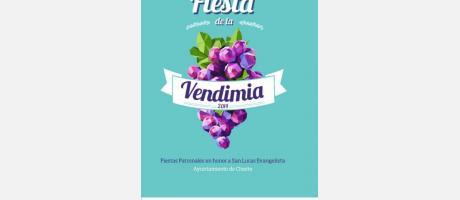 Portada Fiestas Vendimia Cheste 2014