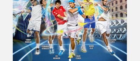 Los tenistas españoles