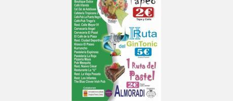 Cartel Participantes Sendero Tapeo Almoradí Octubre 2014