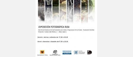 EXPOSICION FOTOGRAFICA RUSA en ALTEA