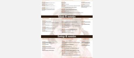 Cartel actividades VII Feria del Chocolate