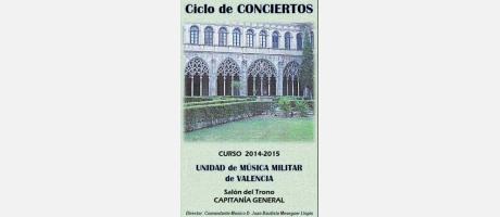 Imagen del XXXIII Ciclo de Conciertos de Capitanía General
