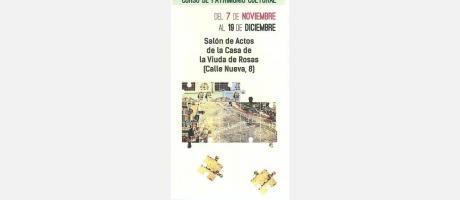 Portada folleto curso patrimonio cultural