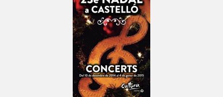 Cartel 23é Nadal a Castelló