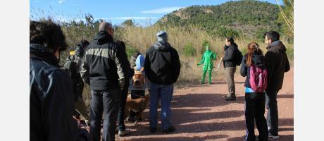 Aparece un extraterrestre en la Calderona