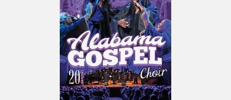 Cartel con dos cantantes de gospel