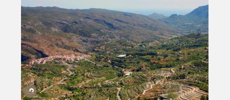 Oxytours, la Vall de la Gallinera