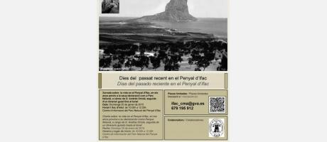 cartel Penyal d'Ifac