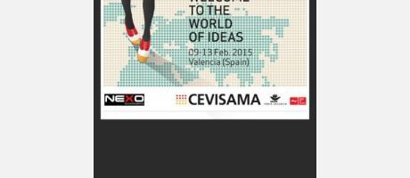 Cartel anunciador de la feria CEVISAMA