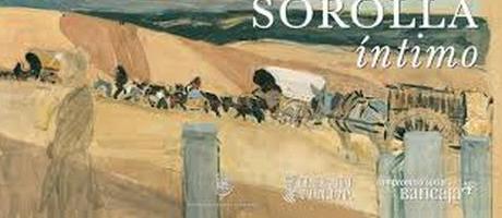 Cartel anunciador con boceto de Sorolla