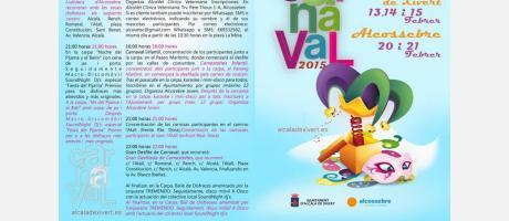 Programa Carnaval 2015 Alcossebre