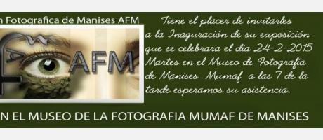 Imagen invitación exposición AFM