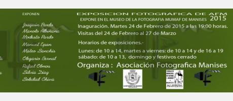 Listado participantes exposición AFM