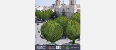 Cartel Congreso Nacional Alcachofa 2015 en Almoradí