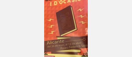 Feria del libro Antiguo y de ocasión Alicante 2015