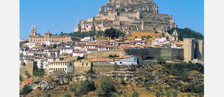 Morella - vista castillo