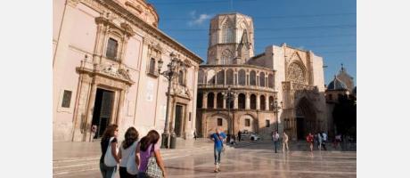 Plaza de la Virgen - Valencia