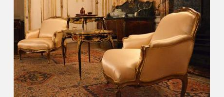 Rehabilitación de muebles de museo