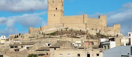 Castillo de Villena en la Costa Blanca
