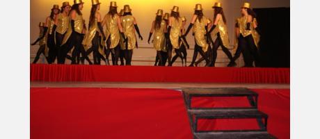 Festival Fin de Curso de la Escuela Municipal de Danza Moderna que dirige Gertru
