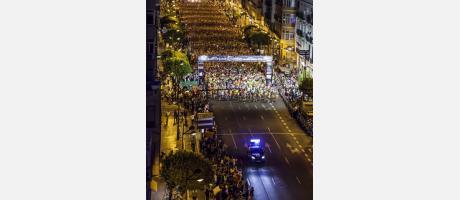 Carrera 15K Nocturna Valencia 2014