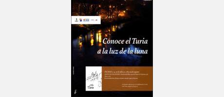 """Cartel """"El Turia a la luz de la luna"""""""