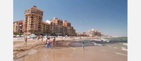 Playa de Port Saplaya en Alboraya