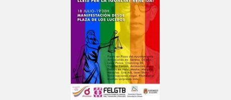 Programación de la fiestas del Orgullo Gay Alicante 2015