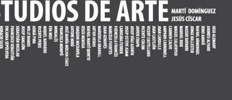 Folleto Exposición Estudios de Arte.