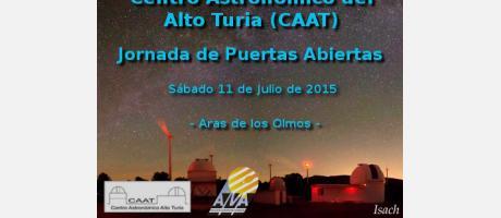 Jornada de Puertas Abiertas- Observación astronómica.
