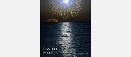 Cartel anunciador de la 29ª edición del Castell de l'Olla