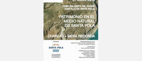 1er Encuentro Patrimonio en el Medio Natural de Santa Pola