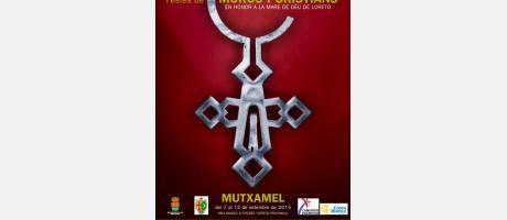 cartel anunciador Fiestas Moros y Cristianos